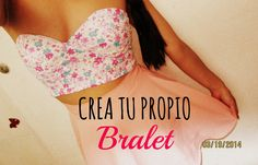 Bralet: Its in Spanish but you have good camera views---¡COSE TU BRALET EN MINUTOS! - Madeleyn ♡