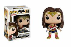 BATMAN VS SUPERMAN – WONDER WOMAN – FUNKO POP! VINYL FIGURE