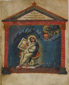 The Coronation Gospels: London, British Library, MS Cotton Tiberius A. II, 12th c