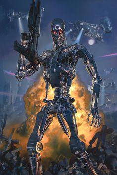 Terminator Future War, Dave Seeley on ArtStation at https://www.artstation.com/artwork/3bn2g