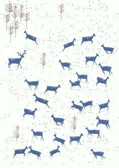 Amyisla McCombie - deer print