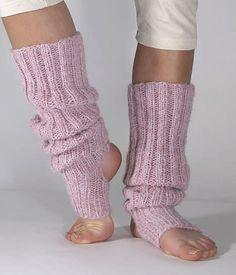 Knitting Patterns Leg Warmers Ravelry: Long yoga / dancing sock pattern by Linda Horvei Crochet Leg Warmers, Crochet Socks, Knitting Socks, Knit Crochet, Knit Socks, Knitting Patterns Free, Free Knitting, Knit Patterns, Free Pattern