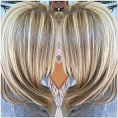 Image result for blonde with lowlights
