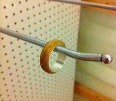 DIY Make a Wooden Wedding Ring