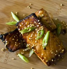 Broiled Asian Salmon and Pinterest