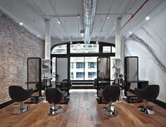 """Alibi NYC Hair Salon is a high end salon comprised of international top artists who appreciate giving you special attention. Our services include the """"Alibi Experience""""—a stress relieving head/neck/hand massage using essential oils with steamed hot towels. An upscale yet relaxed atmosphere, Alibi NYC Salon is dedicated to provide the latest trends and create an…"""