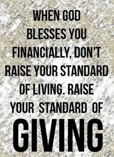 The joy of giving!!!