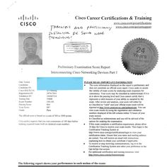 we are proud of our student who has passed his Cisco ICND1! Congratulations.