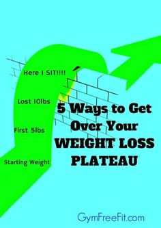 5 Ways to Get Over Your Weight Loss Plateau