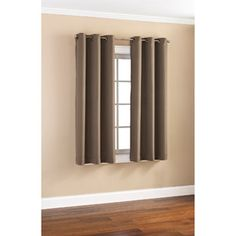 Mainstays Casual Grommet Woven Curtain Panels, Set of 2 $19.94 for 2, 40 x 63 walmart for Becky