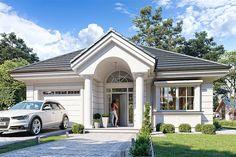 Moja kuća i vrt - Ideje i savjeti za uređenje doma Village House Design, Kerala House Design, Village Houses, Simple House Design, Modern House Design, Modern Houses, Small Modern House Plans, One Storey House, Architectural House Plans