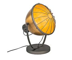 Lámpara de sobremesa de metal Orbita