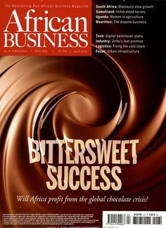 Bittersweet success - Will Africa profit from the global chocolate crisis? Gefunden in: AFRICAN BUSINESS, Nr. 4/2015
