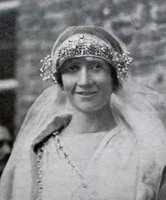 principessa Bona Margherita di Savoia-Genova Flapper Wedding, 1920s Wedding, Royal Jewels, Crown Jewels, Charles Emmanuel, King Of Italy, Franz Josef I, Diamond Tiara, Grand Duke