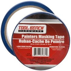 Tool Bench Hardware Painters Masking Tape, 54 ft.