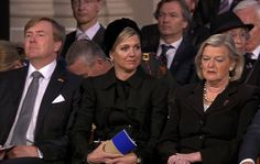 ♥•✿•QueenMaxima•✿•♥...Queen Maxima and King Willem Alexander at National Remembrance ceremony