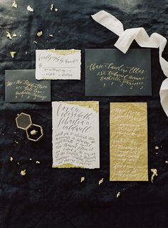 Opulent Black and Gold Wedding Ideas from the See Sessions Workshop | Wedding Sparrow | Jessica Lorren Photography + Jessica Sloane Stylist