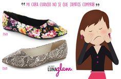 Mi cara cuando no sé que #zapatos Comprar  #Lunaglam en @osom