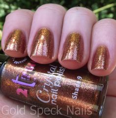 2true Crystal Nail Polish-Rio
