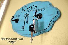 cute key holder.  this would also be great for a dorm room with a roommate.