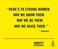 & may we LOVE THEM! <3 Amnesty
