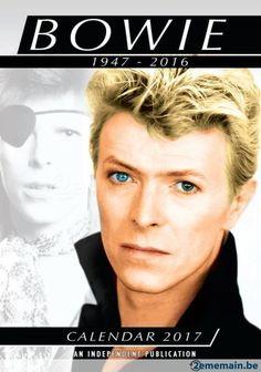Calendrier David Bowie 2017 - A vendre