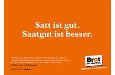 Brot für die Welt : Leagas Delaney Werbeagentur Hamburg