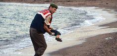 Foto von ertrunkenem Flüchtlingsjungen: Ein Bild, eine Botschaft - SPIEGEL ONLINE - Nachrichten - Politik