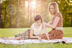 A picnic with your daughter, what a sweet idea :)