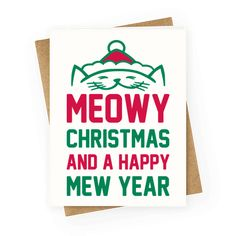 The perfect Christmas card for cats and cat lovers!  Check out our huge collection of greeting cards for the holidays and all occasions.