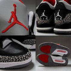 Still want these. Air Jordan III Cement Black.