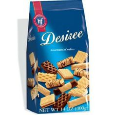 Hans Freitag Desiree Assorted Wafers, 14-Ounces (Pack of 5)  With a cup of coffee or tea - Delicious!