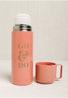 This encouraging thermos: | 29 Gifts For Anyone With Major Wanderlust