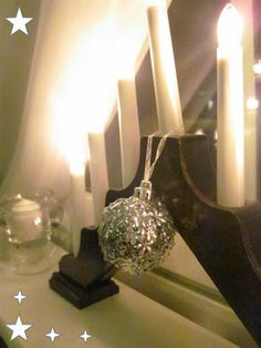 Ihania aarteita: 15. luukku Lighting, Home Decor, Decoration Home, Room Decor, Lights, Home Interior Design, Lightning, Home Decoration, Interior Design
