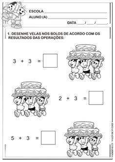 Matemática Infantil: Atividade Matemática Adição