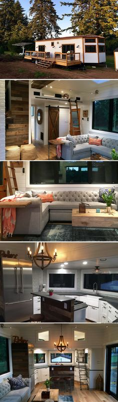 Haus innenarchitektur The Hawaii House from Tiny Heirloom Benefits Of An Adjustable B Tyni House, Tiny House Stairs, Tiny House Living, Tiny House Plans, Tiny House On Wheels, Tiny House On Trailer, Tiny House Office, Tiny House Movement, Tiny House Nation