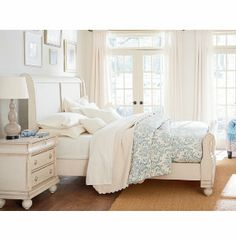 Going to try to get to Art Van this week to get this ordered for the new home! Rustic Trad Queen Sleigh Bed | Master Bedroom | Bedrooms | Art Van Furniture - the Midwest's