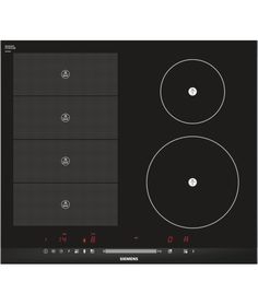 Siemens - EH675MN27E - flexInduction hob EH675MN27E black glass