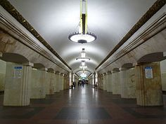 Metro Moskau:  () (SebastianBerlin) Tags: underground subway metro russia moscow ubahn moskau 1950 rusland stations  stationen   2011 bahnhfe  untergrundbahn kurskaya metropoliten    ringlinie  kurskaja