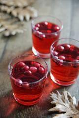 Apfel-Cranberry-Punsch