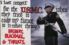 "PostSecret. I feel like this so often. I've been told my attitude for the military can be seen as ""disrespectful."" I will forever be grateful for those enlisted men who fight and struggle and put themselves in harm's way to protect you and me... but you haven't seen what I've seen, either."