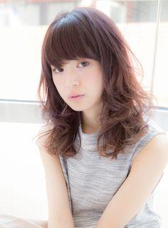 サマーカラー☆ピンクミディ 【Claude MONET 自由が丘店】 http://beautynavi.woman.excite.co.jp/salon/22878?pint ≪ #mediumhair #mediumstyle #mediumhairstyle #hairstyle・ミディアム・ヘアスタイル・髪形・髪型≫