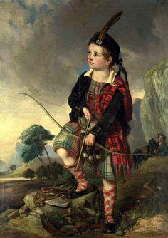 The Young Highlander by John Thomas Peele