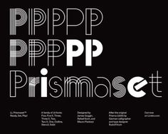 Rafael Koch & Mauro Paolozzi / Lineto / LL Prismaset /...