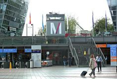 Taking the train at the Munich airport to reach downtown Munich is easy.