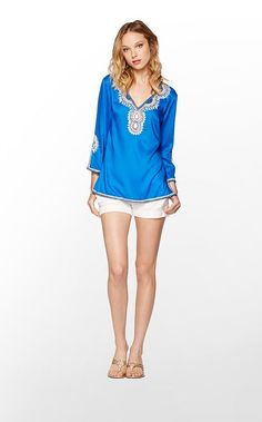 This tunic is absolutely fabulous....great in the blue!!!!!