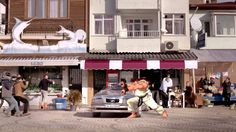 Turkish Car Insurance Commercial feat. Ryu