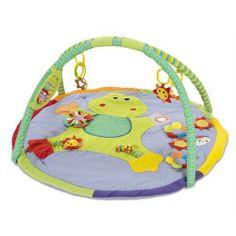 Alfombra Ranita Musical — Enpañales.com.ar El bebé va tocando los diferentes botones y se estimula viendo las luces y escuchando la música.
