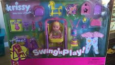 Barbie Doll Accessories Baby Krissy Playset Toy Swing Clothing HAppy Family