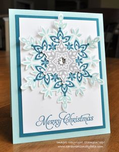 Festive Flurry by mcalexab - Cards and Paper Crafts at Splitcoaststampers